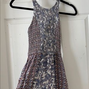 Multiple pattered Maxi dress